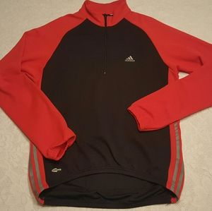 ADIDAS CLIMAWARM CYCLING JERSEY LONG SLEEVE BLACK